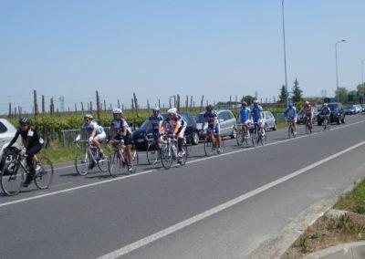 Un gruppo durante il giro