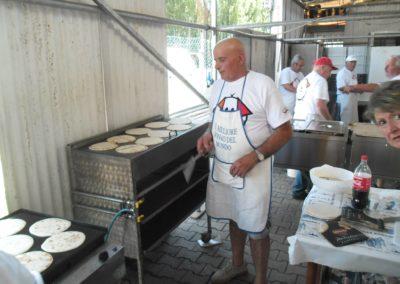La piadina romagnola regna sovrana nel pasta party