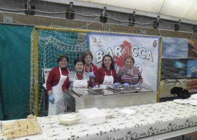 I volontari per il pasta party