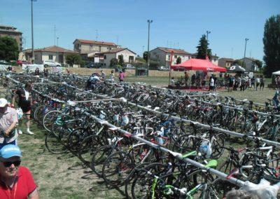 Il  grande parcheggio per le bici
