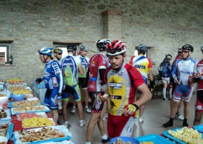I ciclisti sono arrivati affamati