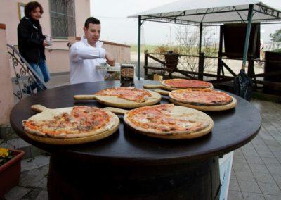 Ristoro Villa Pianta per i tre fiumi: le ottime pizze