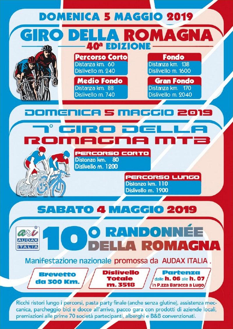 Anteprima volantino Giro della Romagna 2019-B