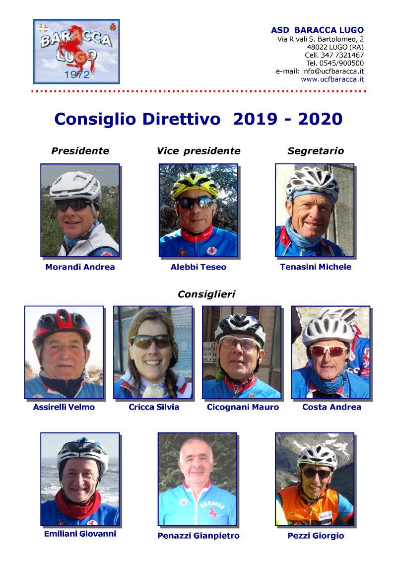 Consiglio direttivo 2017 -2018