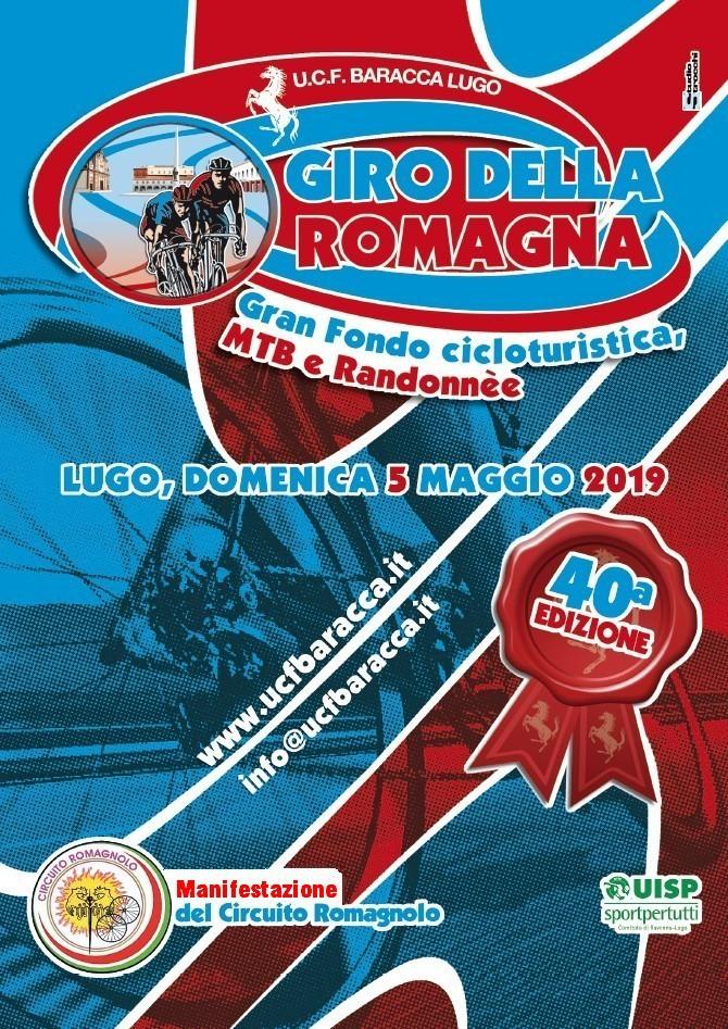 Locandina Giro della Romagna 40a edizione