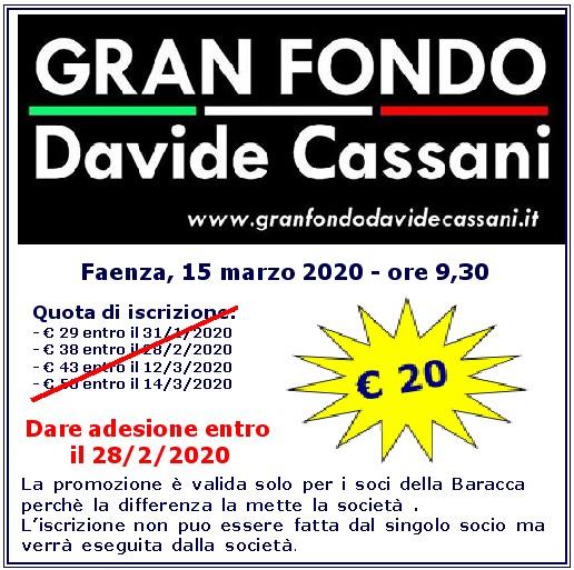 Gran Fondo: Davide Cassani